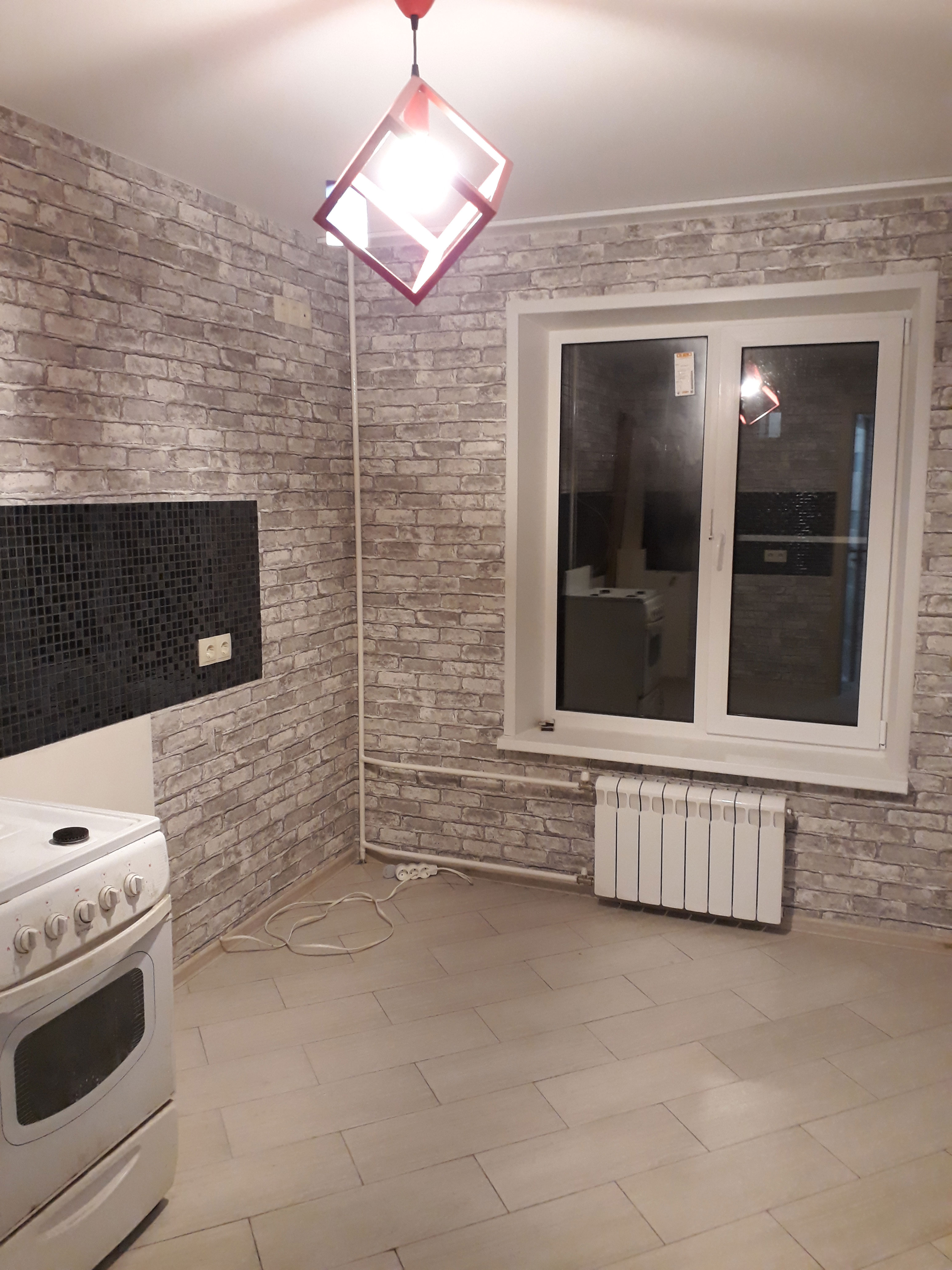 1 комнатная квартира. Москва 2017.